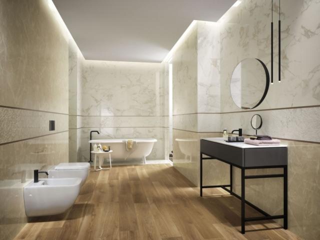 Come arredare il bagno con il legno cose di casa - Produttori ceramiche bagno ...