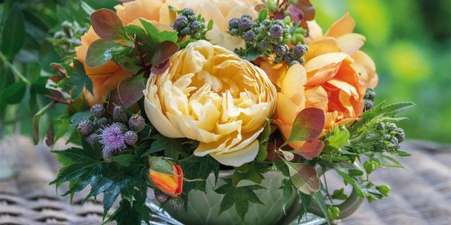 Fai da te: fiori in tazza