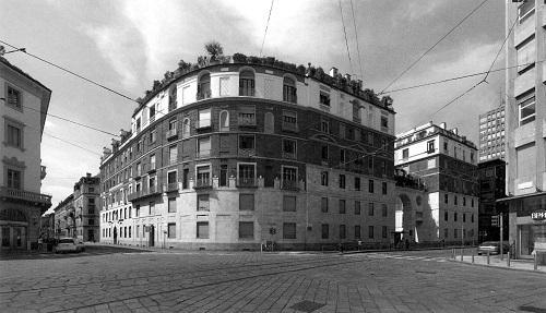 Foto edificio residenziale Ca' Brutta a Milano, di Giovanni Muzio