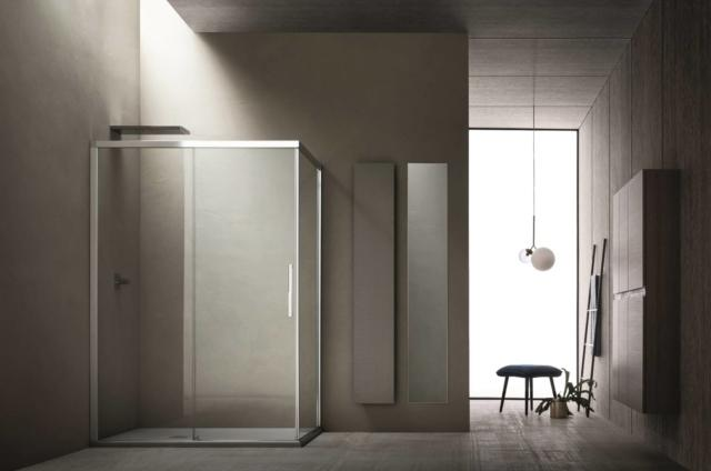 doccia Sirio di Arblu  sistema di chiusure