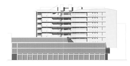 disegno Luigi-Moretti_Edificio-per-abitazioni-in-Corso-Italia
