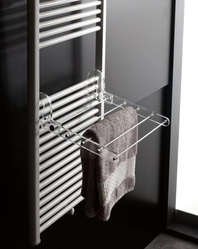 accessorio da ancorare al termosifone per asciugare la biancheria di Toscana Luce