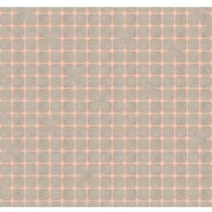 Pavimento decorato Fuga di Matteo Brioni, versione sale grigio rame