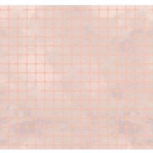 Pavimento decorato Fuga di Matteo Brioni, versione vinaccia rame