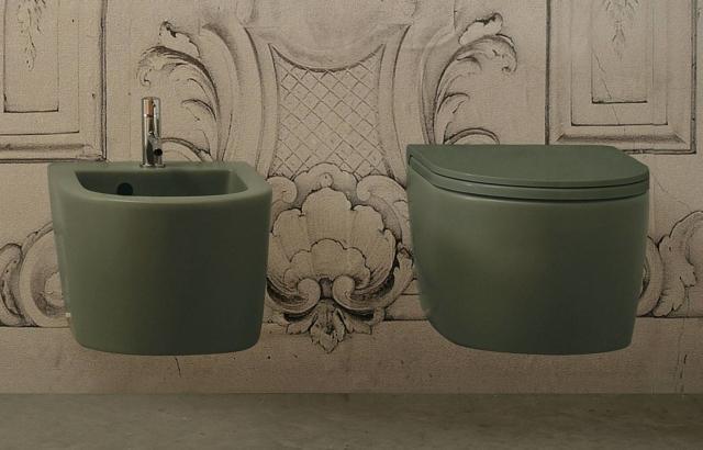 sanitari Forty3 serie Bagno di Colore di ceramica globo