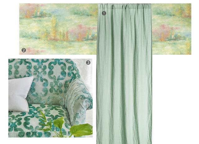 tenda H&M home carta parati jannelli&volpi tessuto Designers guild
