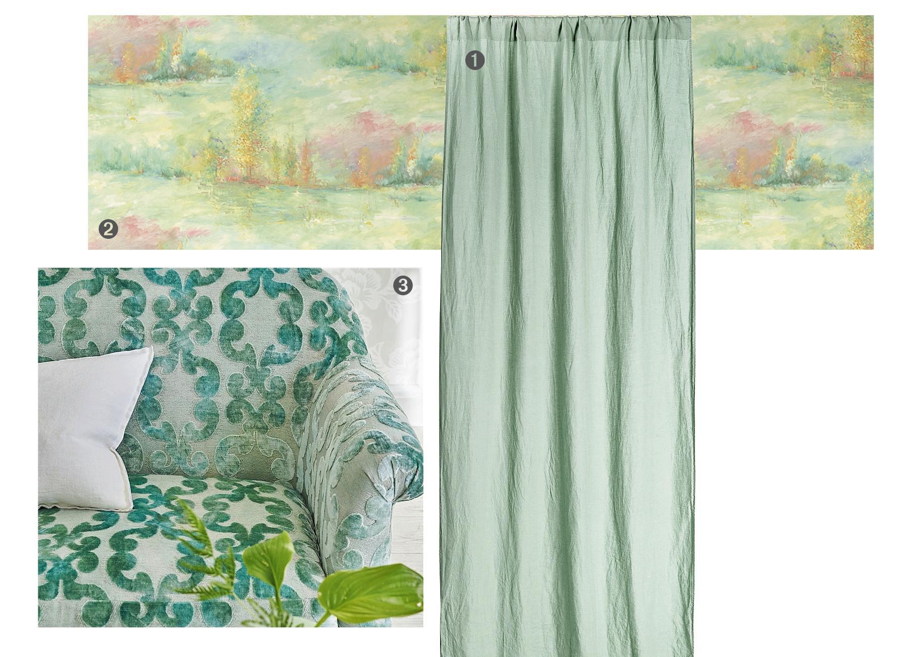 Tende In Velluto Di Seta tessuti per la casa: come sceglierli e abbinarli - cose di casa