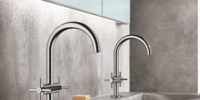 rubinetti linee arrotondate grohe atrio