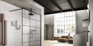 doccia vismaravetro SK-IN perfetta per sostituire la vasca con la doccia