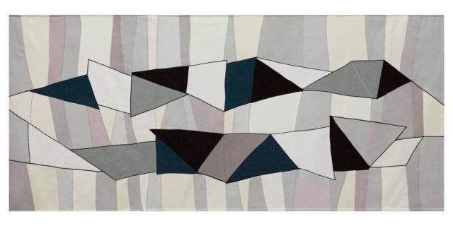 Pannelli di tessuto ispirati agli arazzi, Alizarina Studio al Design Supermarket della Rinascente.