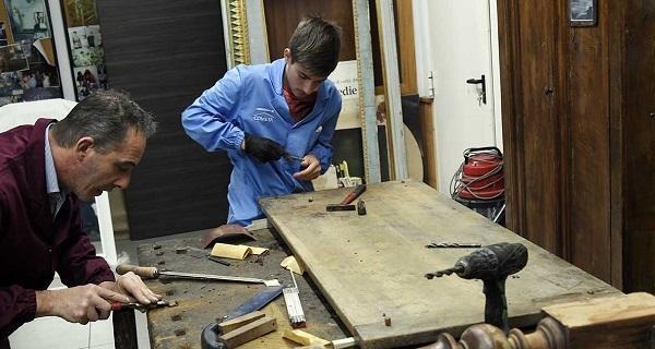 L'Accademia del Legno di CheBanca!: il laboratorio dei giovani futuri artigiani