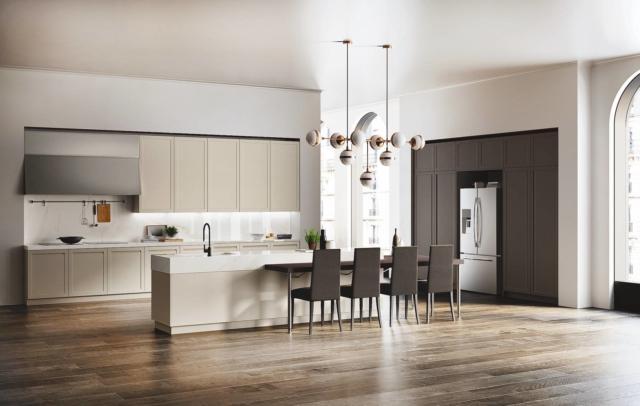 Cucina funzionale e pratica non solo bella cose di casa - Barra portautensili cucina scavolini ...
