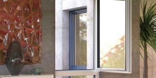 serramenti Finstral Fin Project 72_Anta Step line KAB PVC alluminio per sostituire le finestre in modo veloce