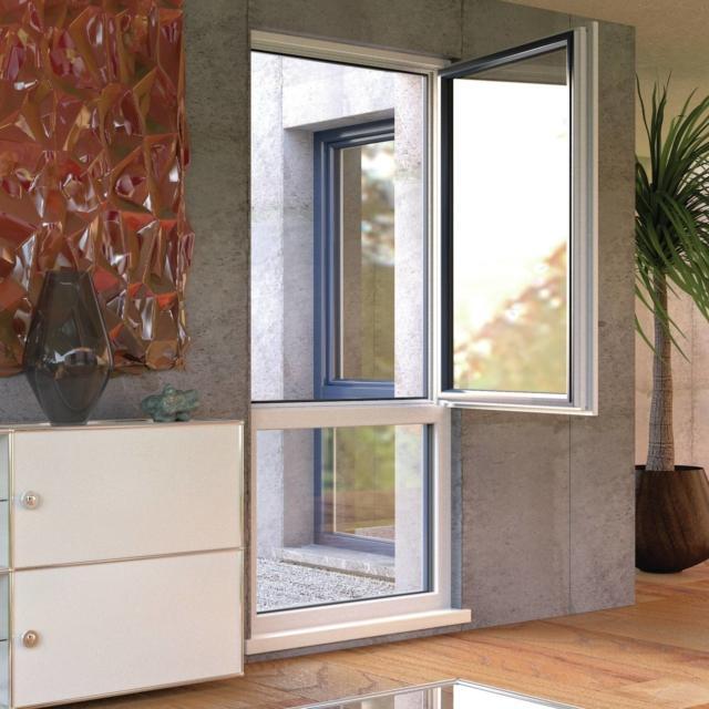 Finstral FIN 72_Anta Step-line KAB PVC-alluminio