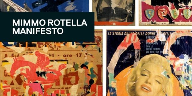 Mimmo Rotella Manifesto
