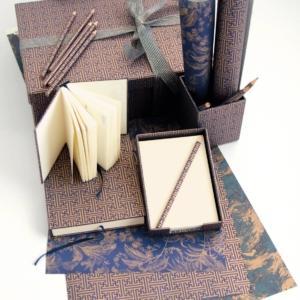 Set scrivania  damascato