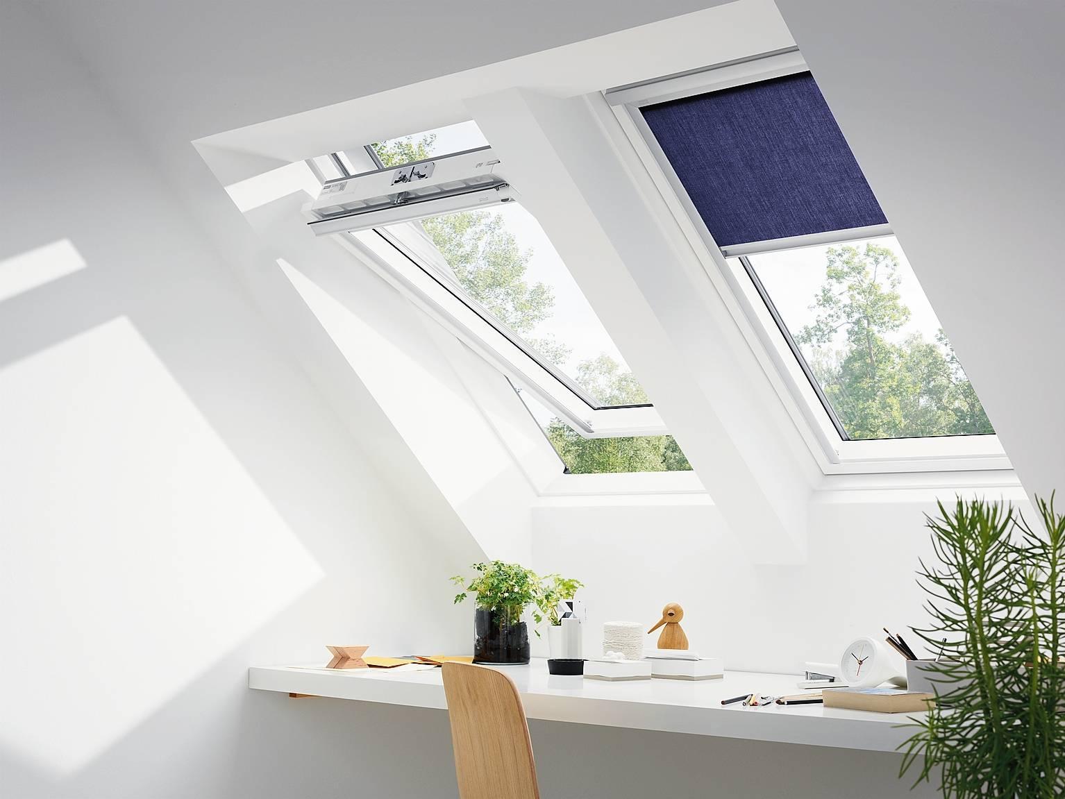 Tende per i lucernari per ridurre il calore oscurare e for Finestre velux foto