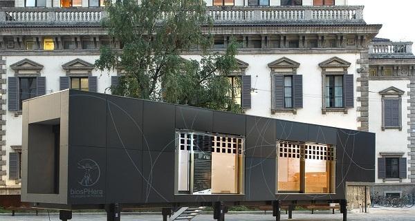 Biosphera Equilibrium: un edificio mobile di 45 mq che rigenera corpo e mente