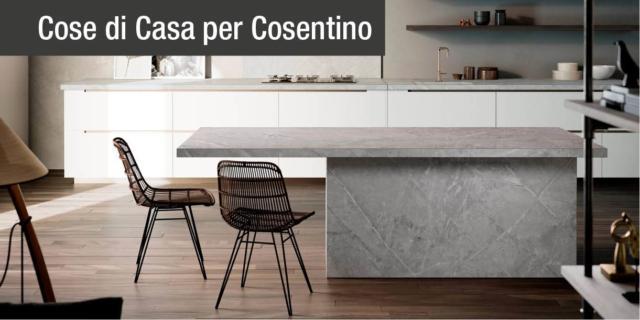 Cemento e pietra naturale: nuove ispirazioni per le superfici Cosentino