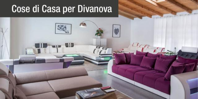 Showroom Divanova divani similpelle