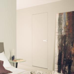 Eclisse Syntesis Line battente: il telaio per porte filo muro.