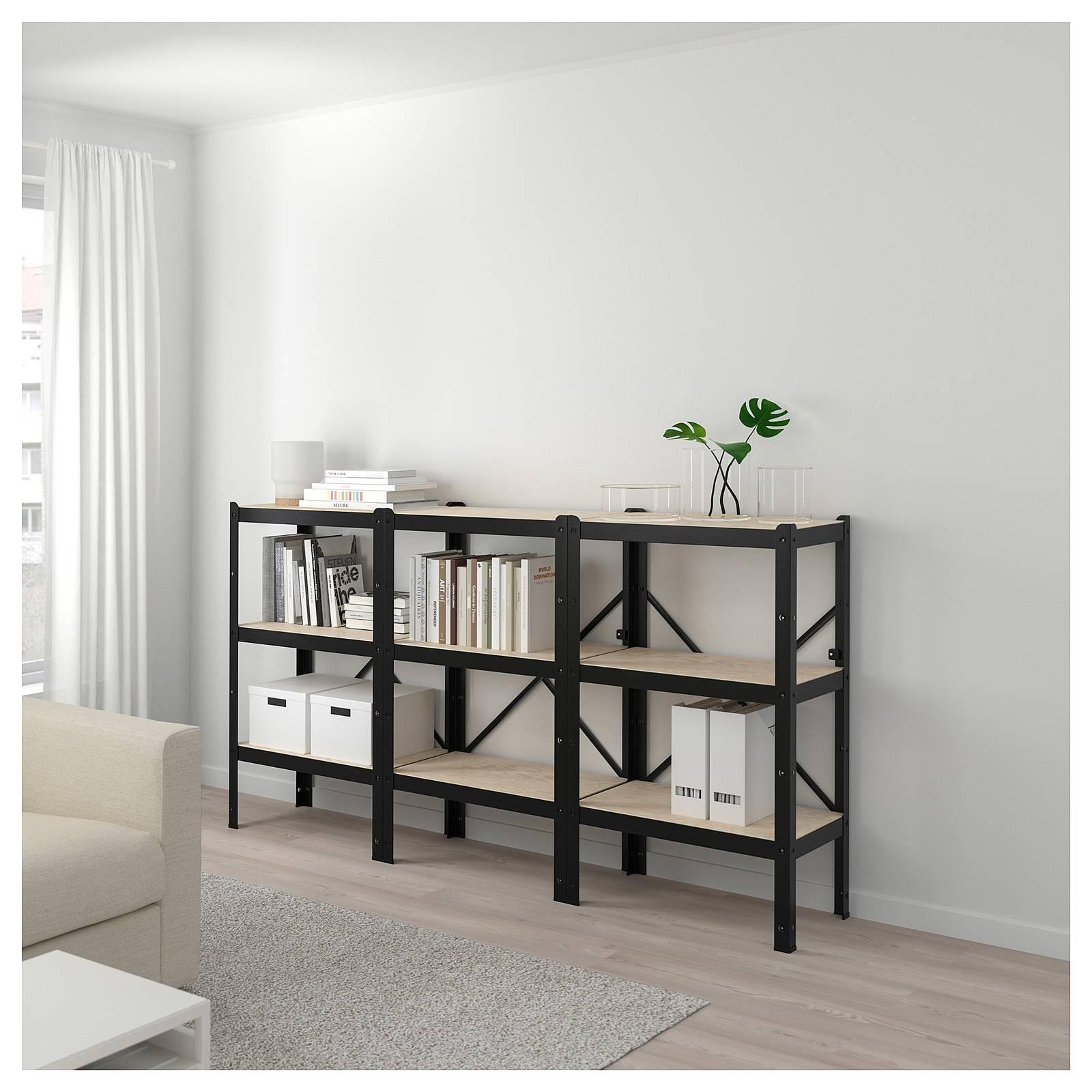 Libreria A Muro Moderna Ikea libreria piccola: a parete o anche da mettere al centro