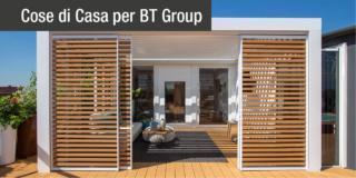 Pergole bioclimatiche BT Group. Per vivere l'outdoor anche in autunno