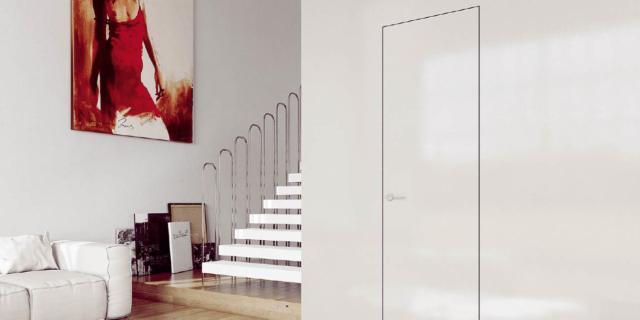 Porte filo muro: un'estetica d'attualità