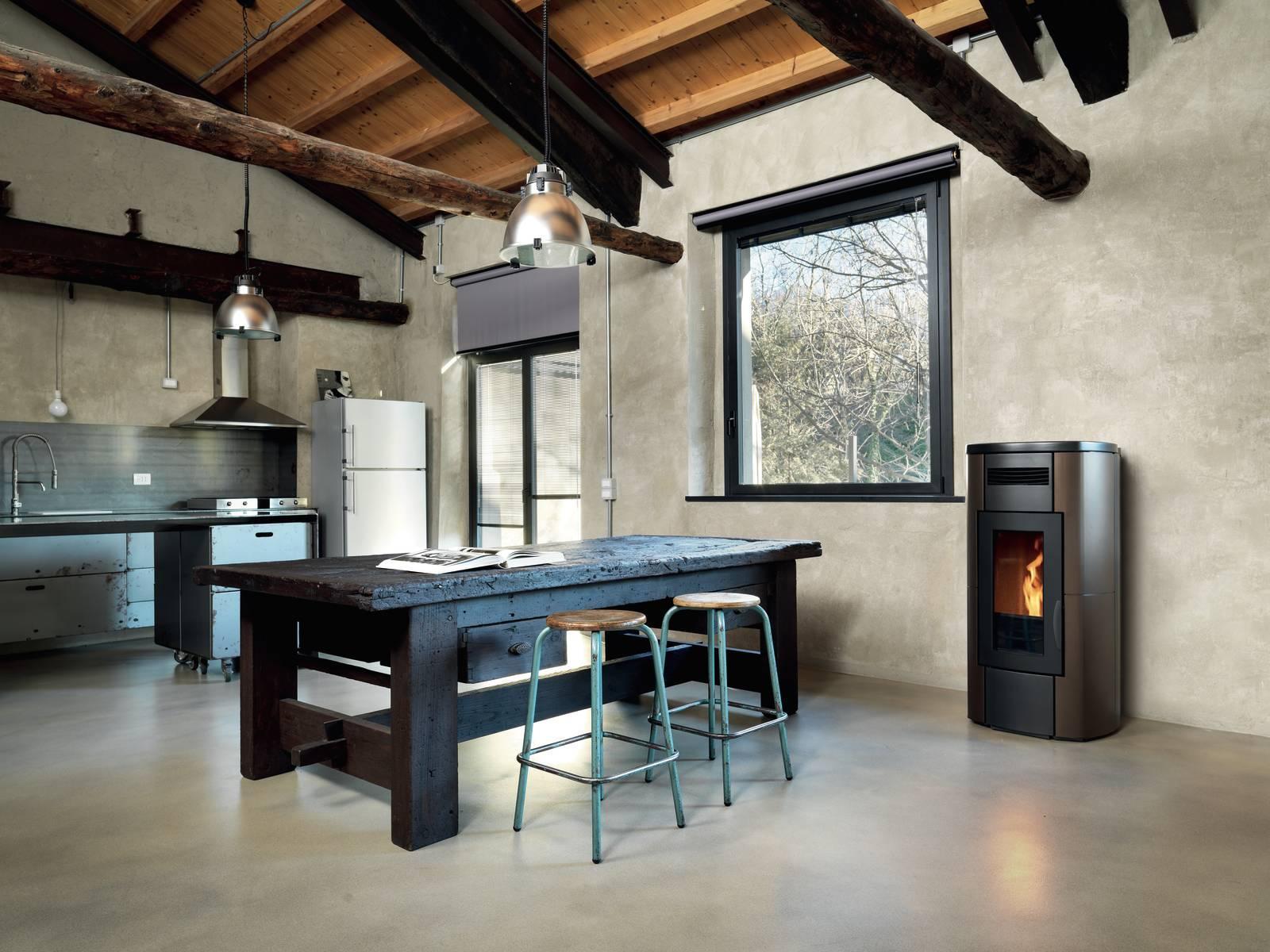 Cenere Di Pellet Nell Orto stufe a pellet ad alta efficienza - cose di casa