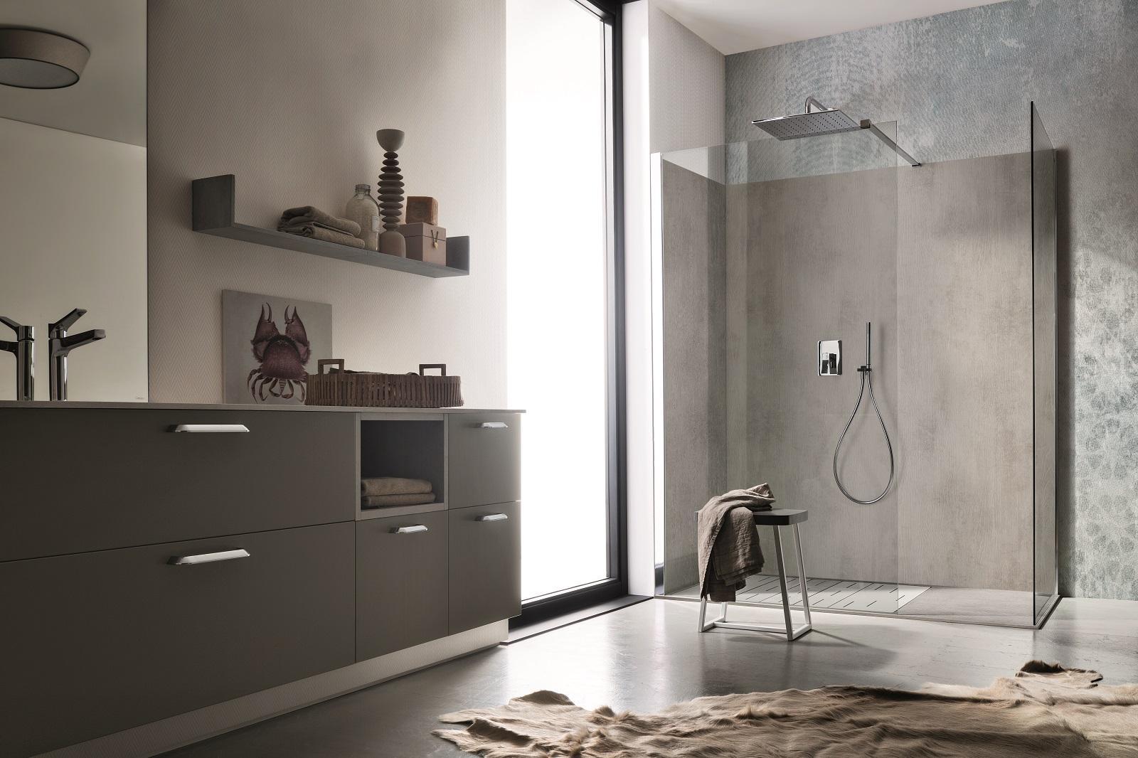 Cabine doccia walk in completamente personalizzabili