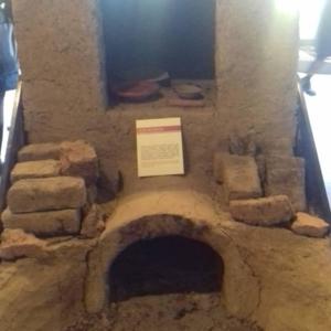 Museo della ceramica di Spezzano - Sezione storica: fornace per la cottura dei laterizi in argilla. Periodo: età romana.