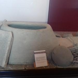 Museo della ceramica di Spezzano - Sezione storica: fornace orizzontale. Periodo: alto medioevo.