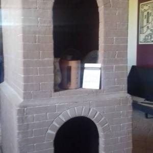 Museo della ceramica di Spezzano - Sezione storica: fornace verticale. Nasce la tecnica della bicottura con gli smalti colorati. Periodo: basso medioevo.