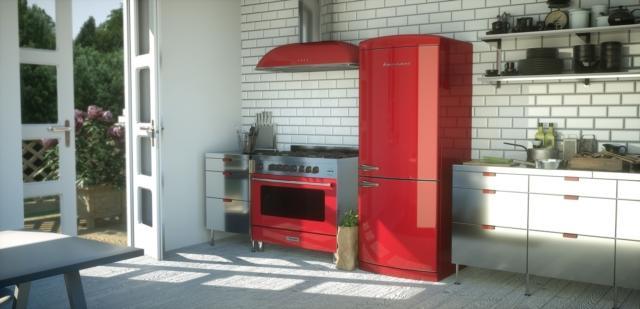 8 bompani retro BOCB740 frigorifero