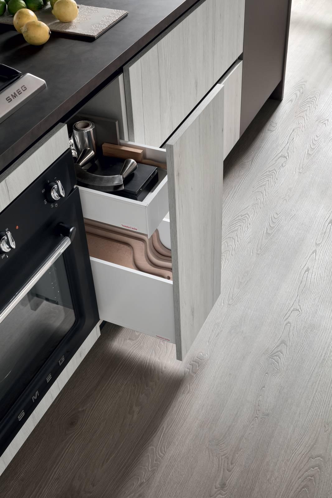Veneta Cucine Accessori Cassetti.Cassetti Cassettoni Cestoni La Praticita In Cucina Cose