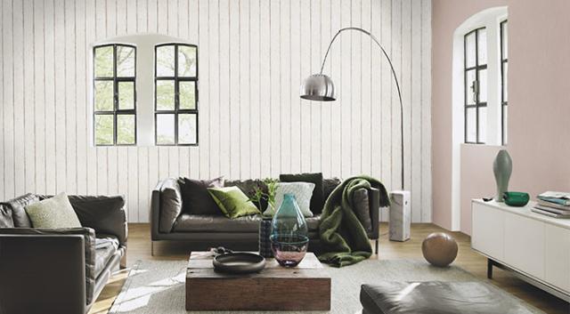 Carta da paratidietrodivano-Wall-art- effetto legno