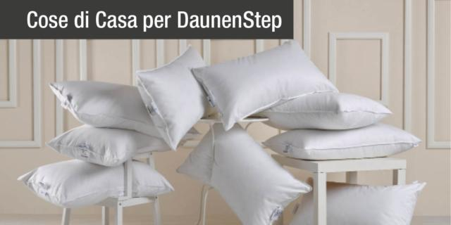 Dolce dormire con i cuscini DaunenStep