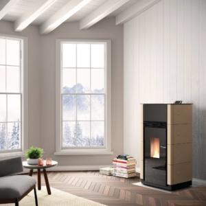 Stufa a pellet Idro ventilata Ecofire® Wilma di Gruppo Palazzetti