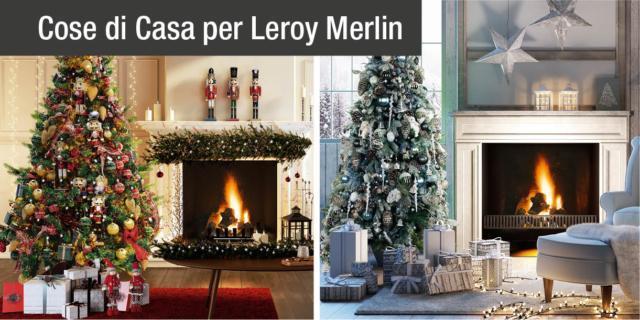 Albero di Natale e addobbi per una magica atmosfera