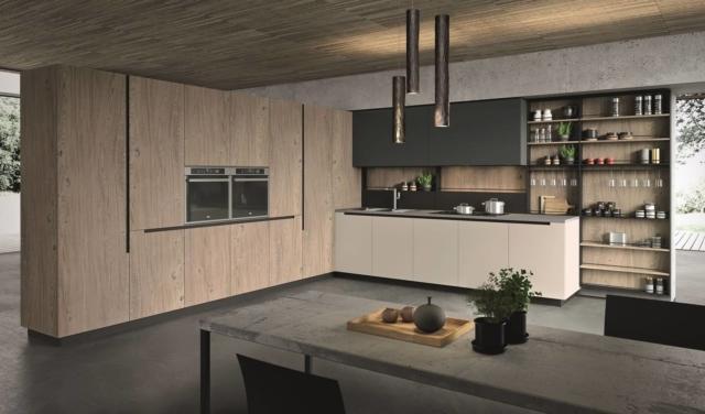 cucina con gola aran cucine Lab13 Urban Style
