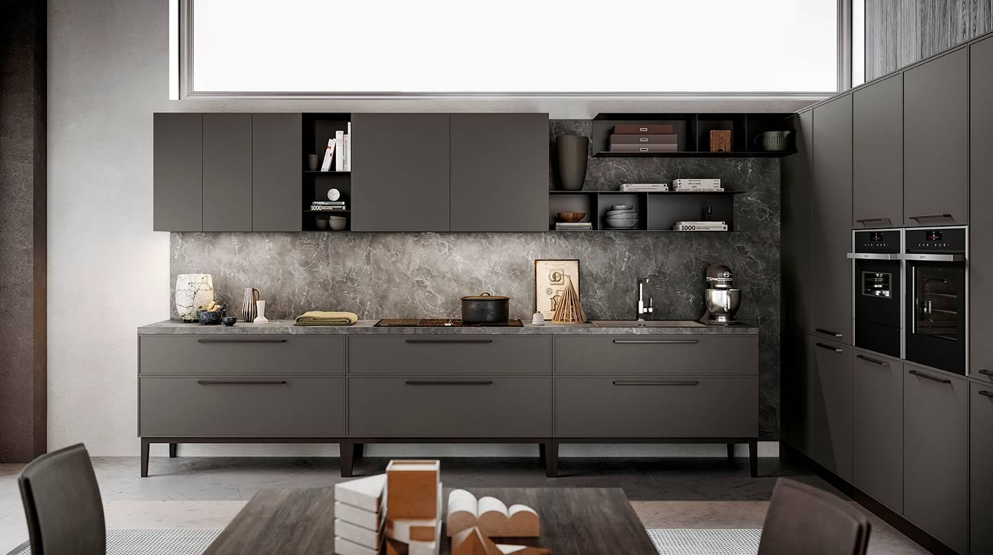 Effetto marmo o pietra per il piano cucina cose di casa - La cucina di aria ...