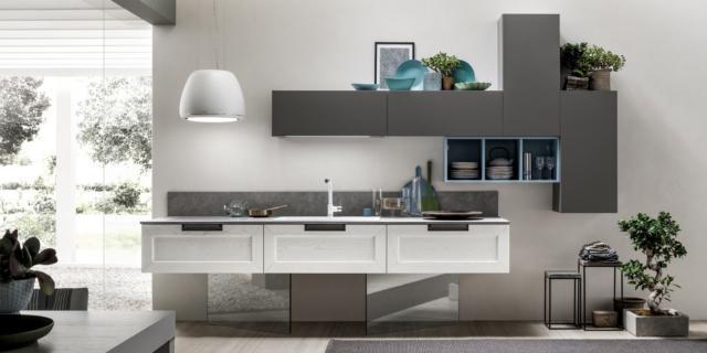 Cucine moderne arredamento idee cucine con isola o for Idee ambiente