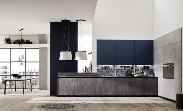 arrex Loft Soft + Loft wall cucina su misura