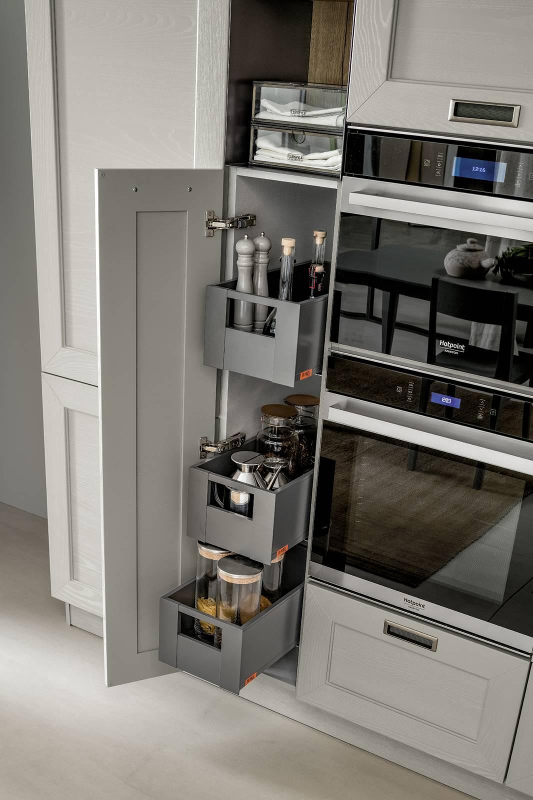 Carrelli estraibili per la cucina: comodità in primo piano - Cose di ...