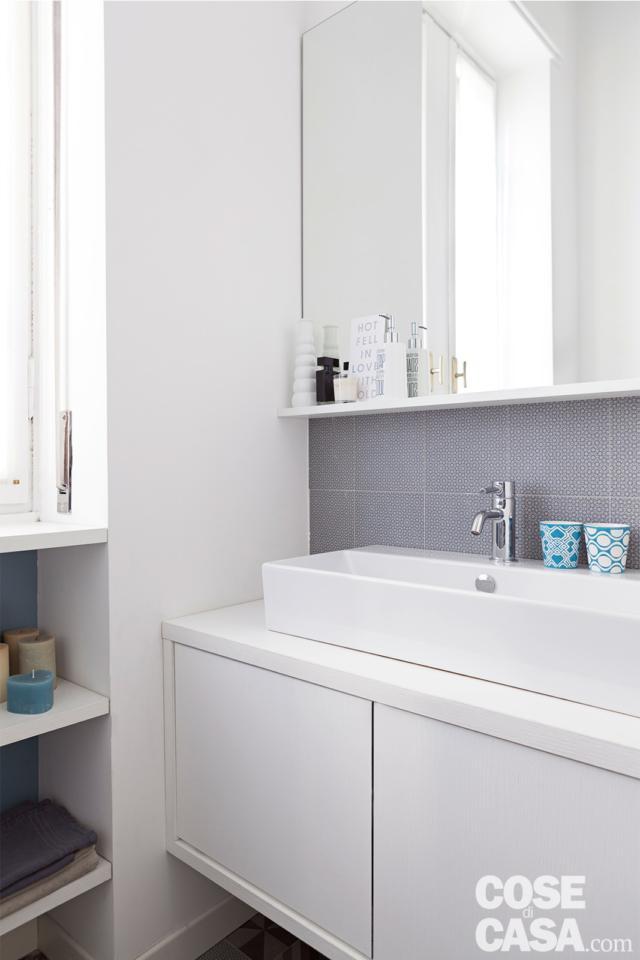 bagno-lavabo casa in stile nordico
