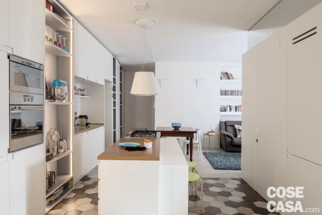 quadrilocale 86 mq bancone-cucina