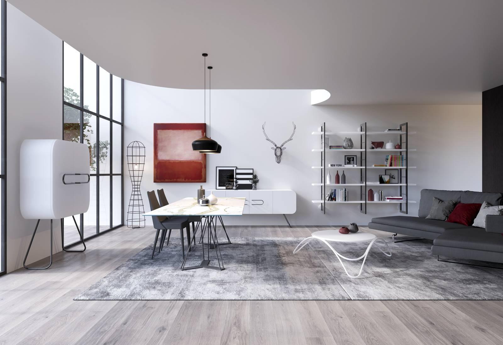 Maison Du Monde Credenze Bianche madie per il soggiorno, decorative anche nella semplicità