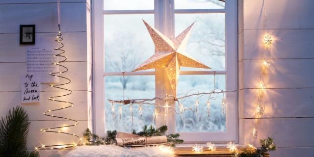 Luci di Natale per l'albero o per la casa