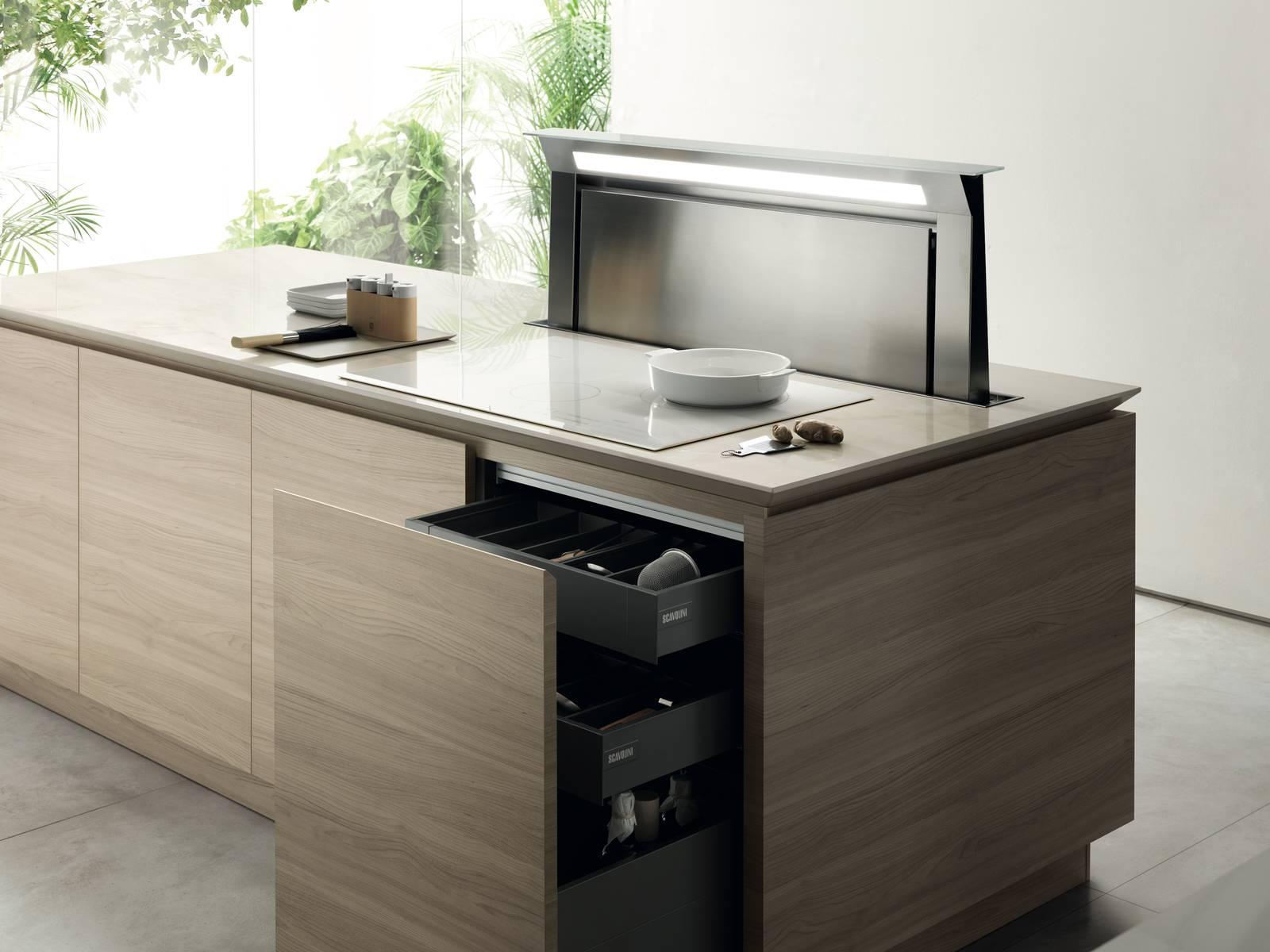 Cassetti, cassettoni, cestoni: la praticità in cucina - Cose ...