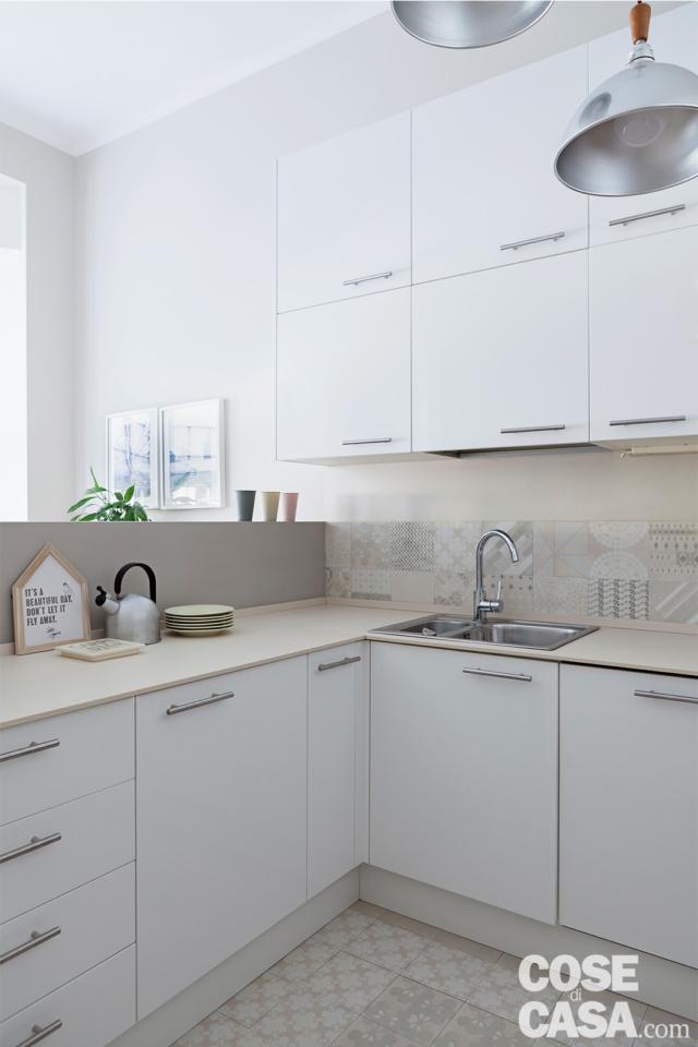 cucina-lavandino casa in stile nordico